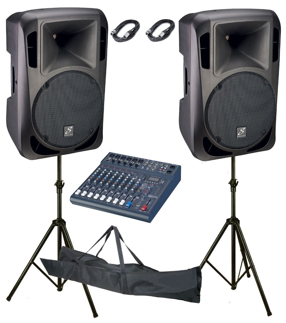 Studiomaster Drive 15a Active Speakers Pair Club Xs10