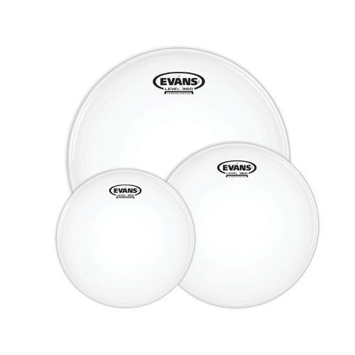 Evans G2 10, 12, 16 inch Rock Tom Drum Pack - Coated - ETP-G2CTD-R