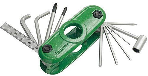 Ibanez MTZ11-GR Official Multi-tool for Guitar / Bass - Green
