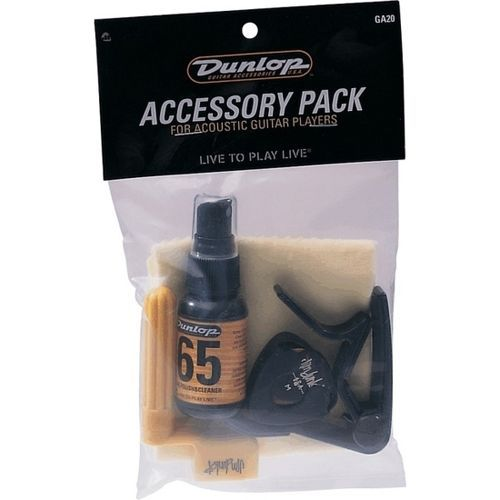 Jim Dunlop GA20 Accessory Pack for Acoustic Guitars  - Packed
