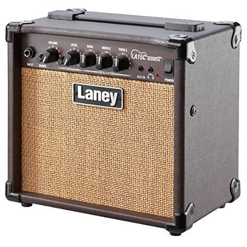 Laney Acoustic Guitar Amplifier - Brown - 15W - LA15C