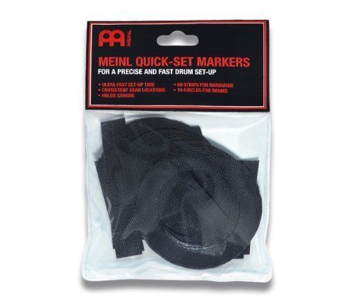 Meinl Percussion Quick-Set Markers for Drum Rugs for drum kits - MQSM