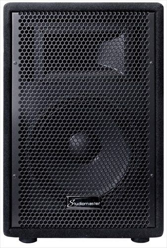 Studiomaster GX10A 10 Inch 100W Active Powered PA Speaker Single