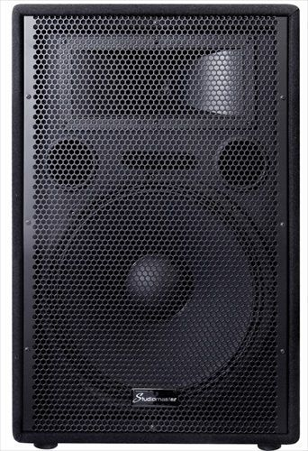 Studiomaster GX15A 15 Inch 250W Active Powered PA Speaker Single